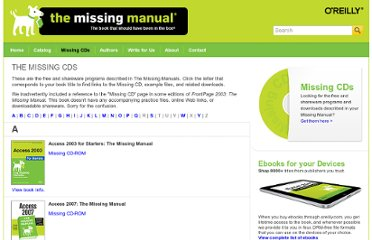 http://missingmanuals.com/cds.html