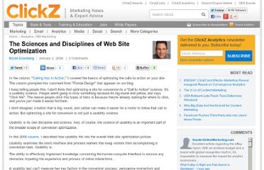 http://www.clickz.com/clickz/column/1699901/the-sciences-disciplines-web-site-optimization