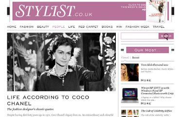 http://www.stylist.co.uk/people/coco-chanel-in-her-own-words