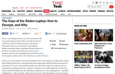 http://techland.time.com/2010/08/06/the-case-of-the-stolen-laptop-how-to-encrypt-and-why/