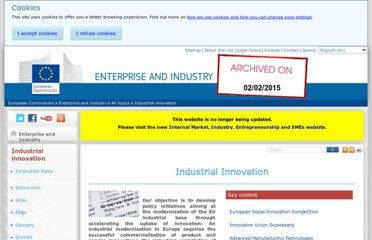 http://ec.europa.eu/enterprise/policies/innovation/index_nl.htm