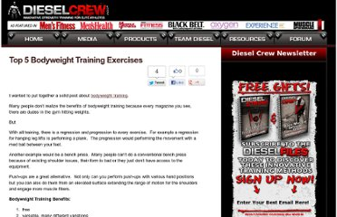 http://www.dieselcrew.com/top-5-bodyweight-training-exercises