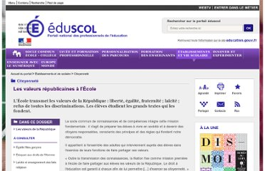 http://eduscol.education.fr/cid46702/valeurs-republicaines.html