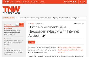 http://thenextweb.com/2009/06/23/save-newspaper-industry-tax-internet-access/
