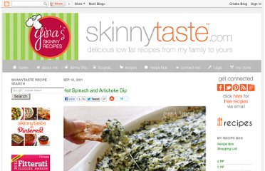 http://www.skinnytaste.com/2011/09/hot-spinach-and-artichoke-dip.html