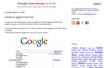 http://googlesystem.blogspot.com/2009/05/google-tests-improved-google-suggest.html