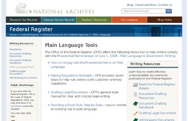 http://www.archives.gov/federal-register/write/plain-language/