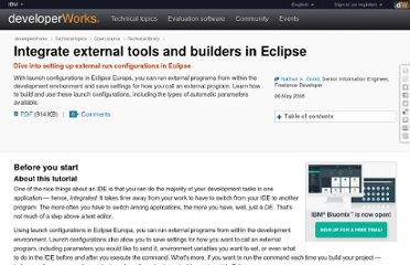 http://www.ibm.com/developerworks/opensource/tutorials/os-eclipse-tools/