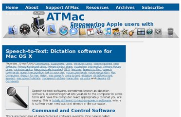 http://atmac.org/speech-to-text-dictation-software-for-os-x
