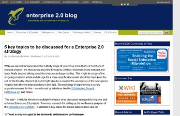 http://enterprise20blog.com/2009/10/07/5-key-topics-to-be-discussed/