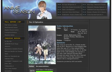 http://www.animeseason.com/no-6/
