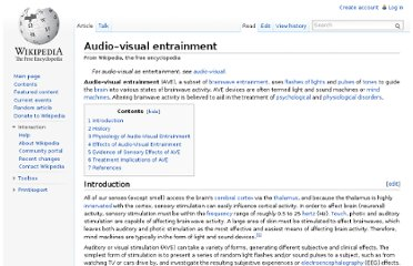 http://en.wikipedia.org/wiki/Audio%E2%80%93visual_entrainment