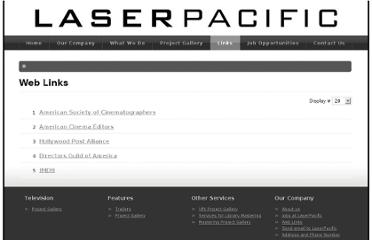 http://www.laserpacific.com/index.php/links