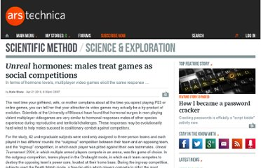 http://arstechnica.com/science/news/2010/04/unreal-hormones-males-treat-games-as-social-competitions.ars