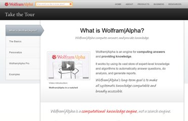 http://www.wolframalpha.com/tour/what-is-wolframalpha.html