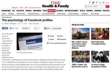 http://healthland.time.com/2009/12/03/the-psychology-of-facebook-profiles/