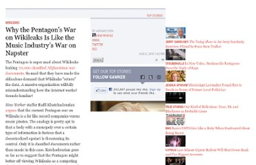 http://gawker.com/5606506/why-the-pentagons-war-on-wikileaks-is-like-the-music-industrys-war-on-napster