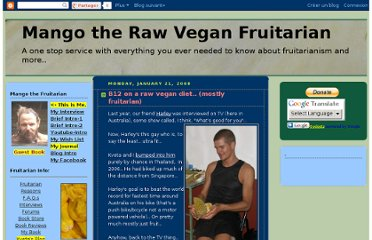 http://mangodurian.blogspot.com/2008/01/b12-on-raw-vegan-diet-mostly-fruitarian.html