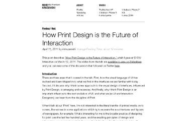 http://kruzeniski.com/2011/how-print-design-is-the-future-of-interaction/