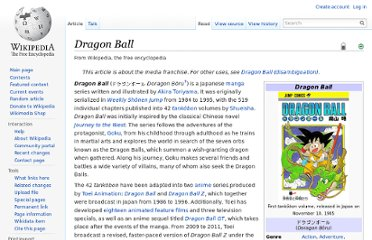 http://en.wikipedia.org/wiki/Dragon_Ball#Dragon_Ball_Z