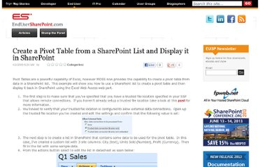 https://www.nothingbutsharepoint.com/sites/eusp/Pages/create-a-pivot-table-from-a-sharepoint-list-and-display-it-in-sharepoint.aspx