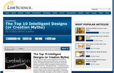 http://www.livescience.com/11316-top-10-intelligent-designs-creation-myths.html
