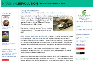 http://marginalrevolution.com/marginalrevolution/2010/09/trolley-problem-biases.html