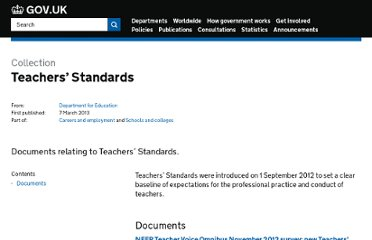 http://www.education.gov.uk/a00192172/review-of-teachers-standards-first-report