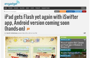 http://www.engadget.com/2011/03/10/ipad-gets-flash-yet-again-with-iswifter-app-android-version-com/