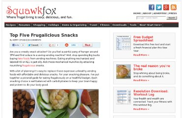 http://www.squawkfox.com/2008/03/21/top-five-frugalicious-snacks/