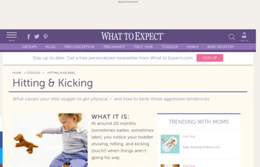http://www.whattoexpect.com/toddler/behavior/hitting-and-kicking.aspx