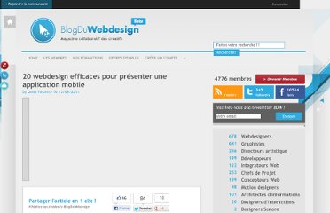http://www.blogduwebdesign.com/webdesign-inspiration/20-webdesign-efficaces-pour-presenter-une-application-mobile/522
