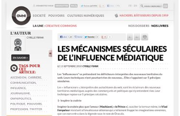 http://owni.fr/2010/09/13/les-mecanismes-seculaires-de-l%e2%80%99influence-mediatique-2/