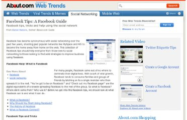 http://webtrends.about.com/od/socialnetworking/a/guide_facebook_tips_and_facebook_help.htm
