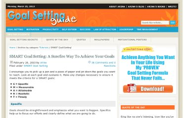 http://www.goal-setting-guide.com/goal-setting-tutorials/smart-goal-setting