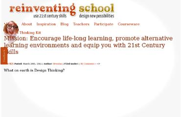 http://reinventingschool.com.au/the-kit/