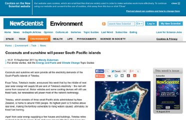 http://www.newscientist.com/article/dn20901-coconuts-and-sunshine-will-power-south-pacific-islands.html