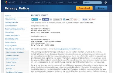 http://www.joomla.org/privacy-policy.html