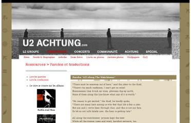 http://www.u2achtung.com/02/lyrics/paroles.php?id=59
