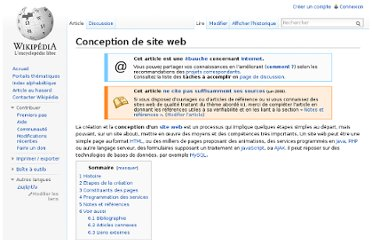 http://fr.wikipedia.org/wiki/Conception_de_site_web