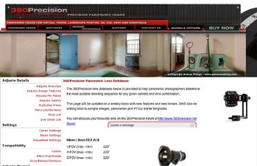 http://www.360precision.com/360/index.cfm?precision=products.lens_database&MainSlideID=2&mainnavID=2&MainMenuOpen=1
