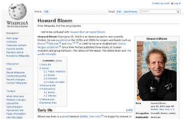 http://en.wikipedia.org/wiki/Howard_Bloom