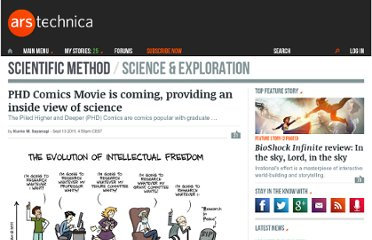 http://arstechnica.com/science/news/2011/09/yes-the-phd-comics-movie-is-coming.ars
