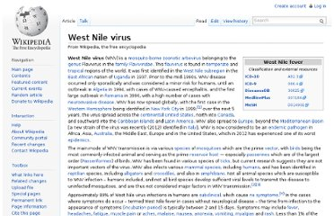http://en.wikipedia.org/wiki/West_Nile_virus