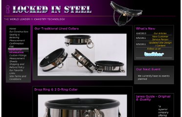 http://www.lockedinsteel.com/?Cat=48&CatName=Lined%20Collars