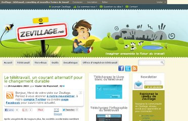 http://www.zevillage.net/2010/11/29/le-teletravail-un-courant-alternatif-pour-le-changement-durable/