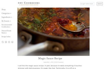 http://www.101cookbooks.com/archives/magic-sauce-recipe.html