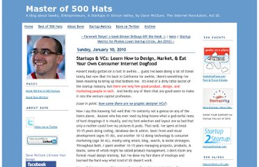 http://500hats.typepad.com/500blogs/2010/01/startups-vcs-eat-your-own-damn-dogfood.html