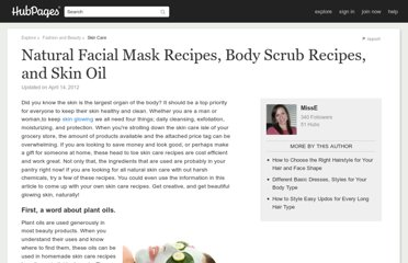http://misse.hubpages.com/hub/Head-to-Toe-Skin-Care-Recipes