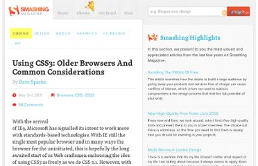 http://coding.smashingmagazine.com/2011/05/03/using-css3-older-browsers-and-common-considerations/